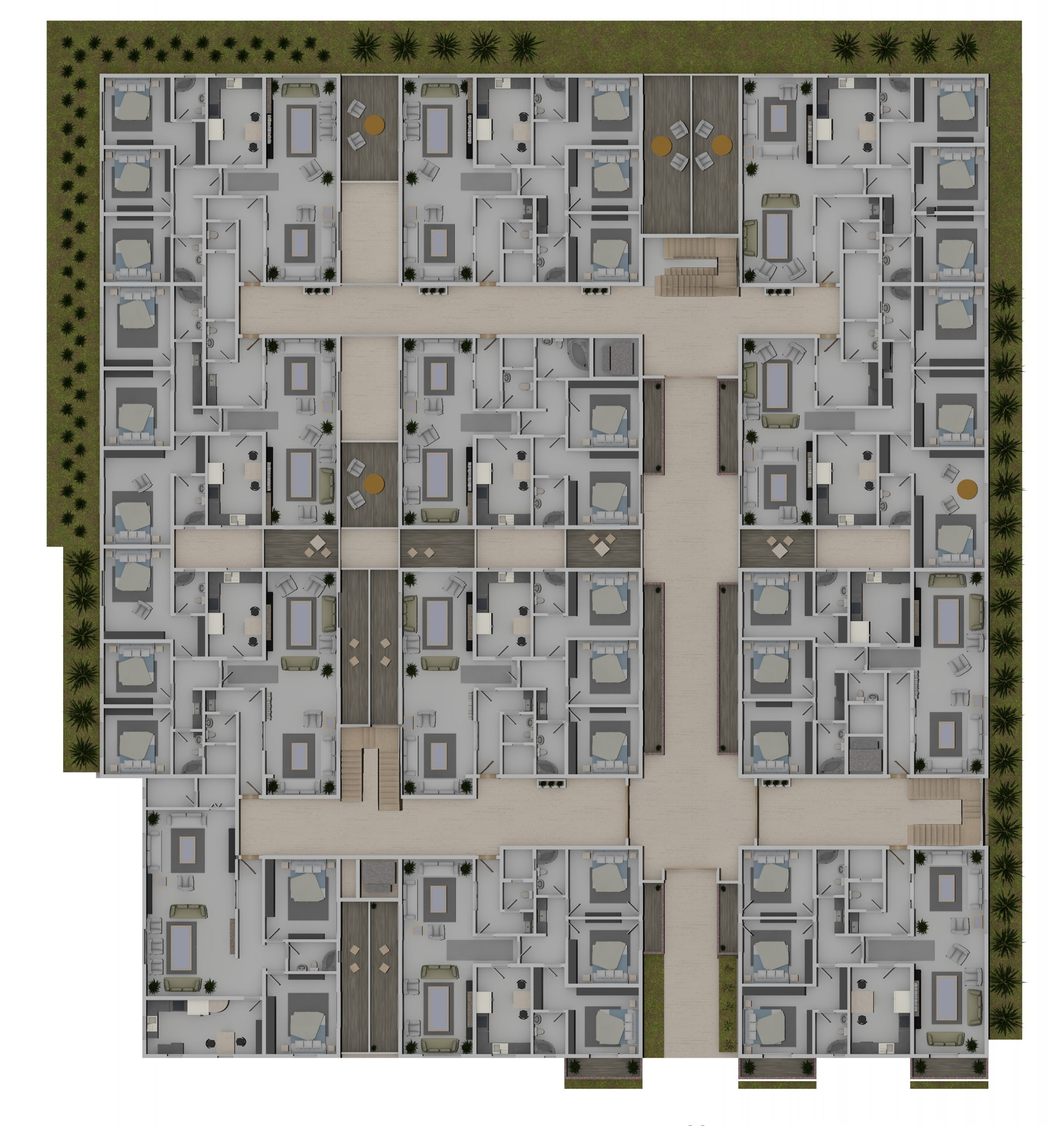 ريفييرا 8 الدور الأرضي
